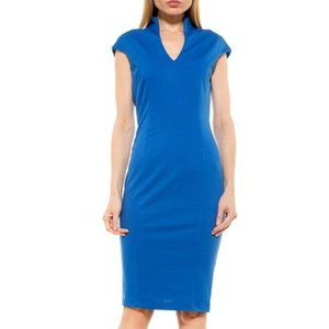 Alexia Admor Blue Dress